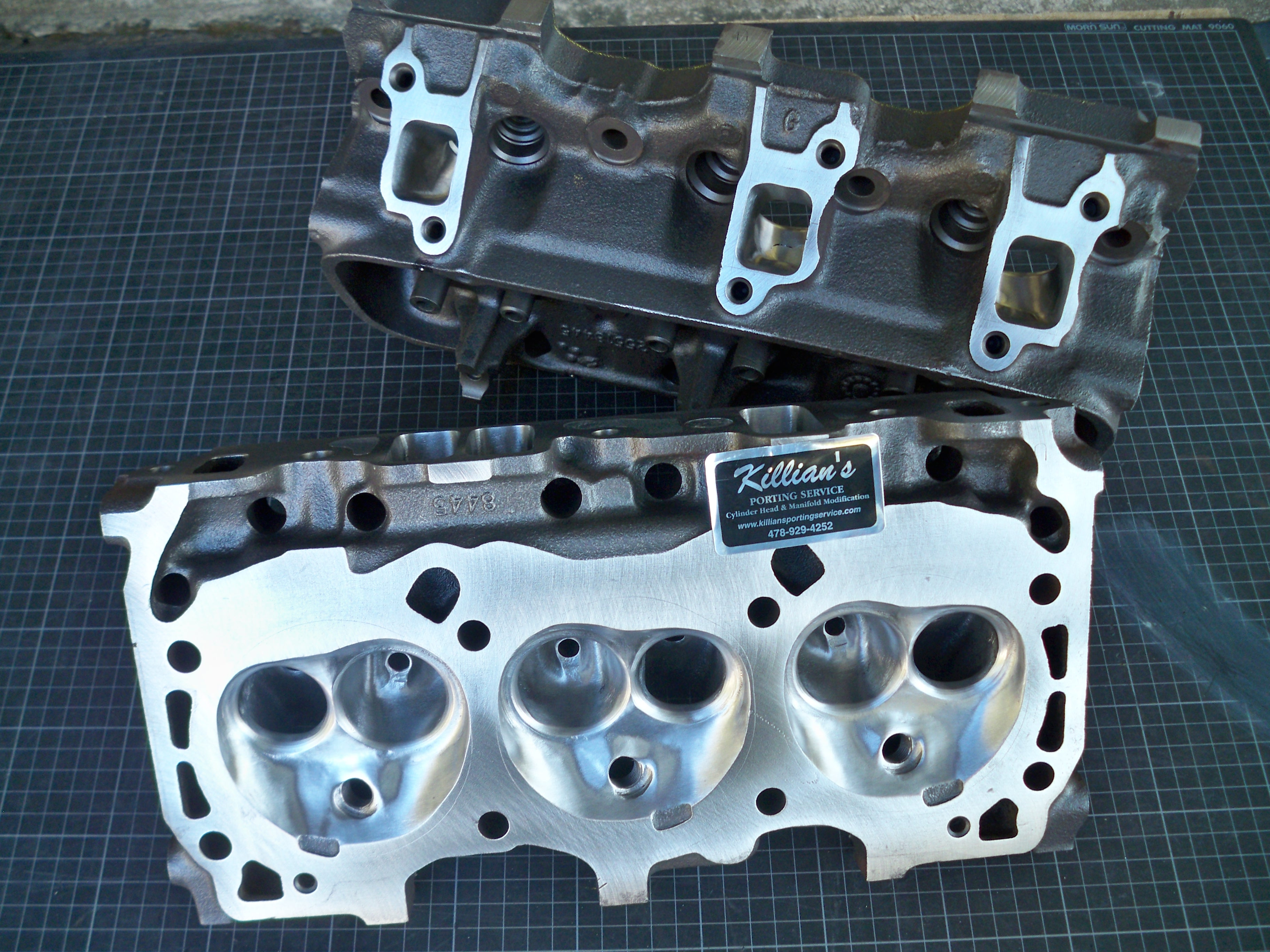Buick V-6 GN Cast Iron Heads